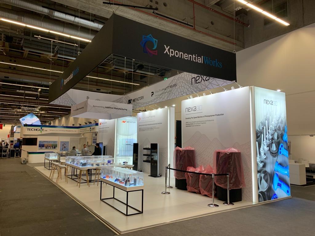 FORMNEXT, FRANKFURT, Germany Custom Exhibition Booth, Exhibition Stand Contractor, Exhibition Booth Designer