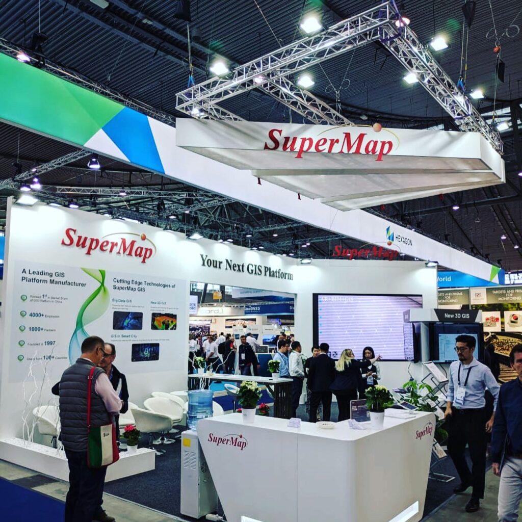INTERGEO, STUTTGART, Germany Custom Exhibition Booth, Exhibition Stand Contractor, Exhibition Booth Designer