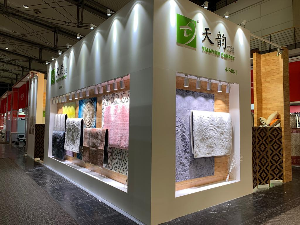 HEMITEXTILE, FRANKFURT, Germany Custom Exhibition Booth, Exhibition Stand Contractor, Exhibition Booth Designer