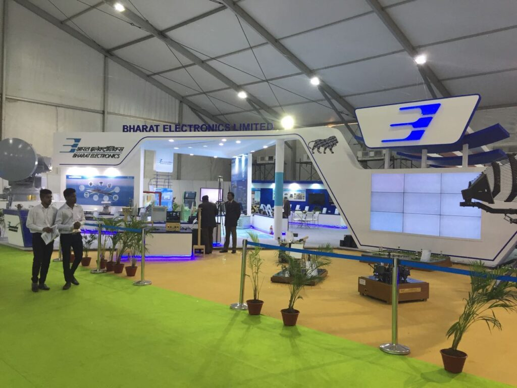 DEF EXPO, GOA Custom Exhibition Booth, Exhibition Stand Contractor