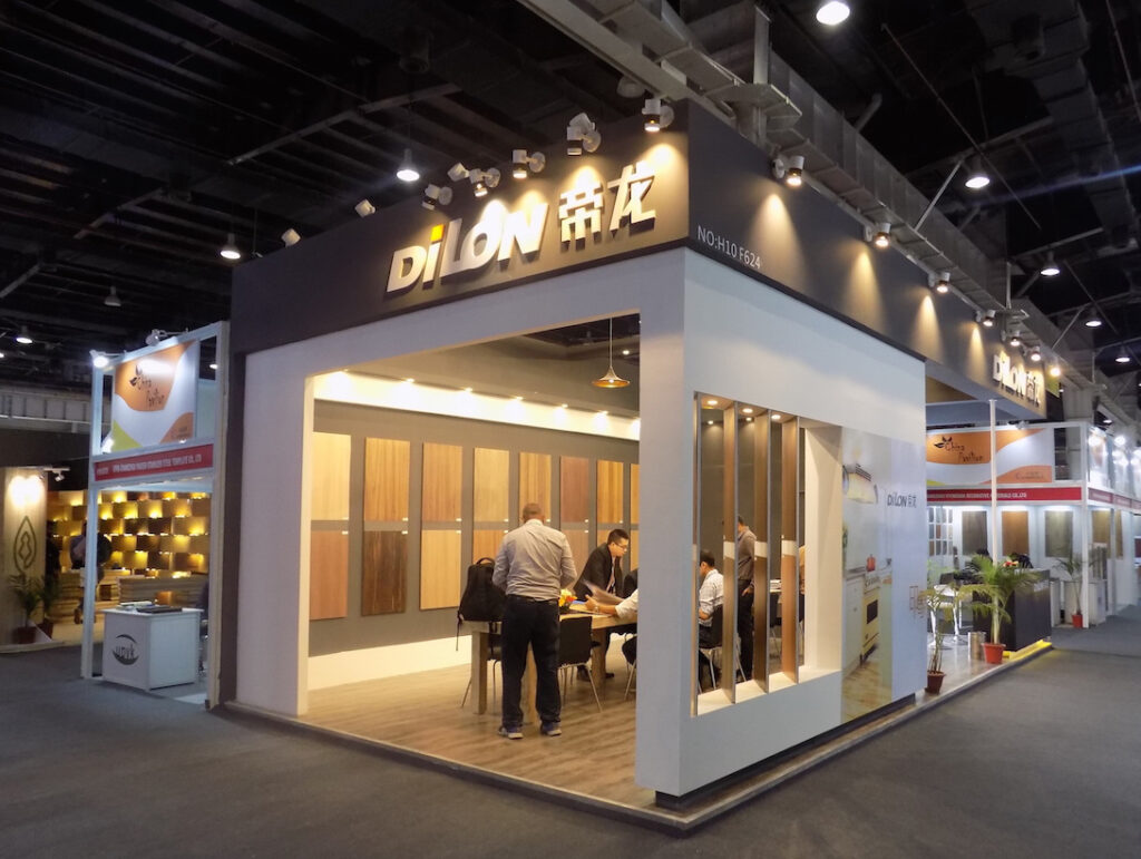 INDIA WOOD, BANGALORE Custom Exhibition Booth, Exhibition Stand Contractor