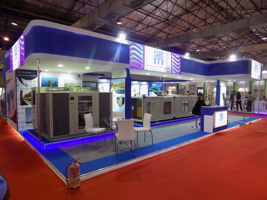 ACREX, MUMBAI Custom Exhibition Booth, Exhibition Stand Contractor