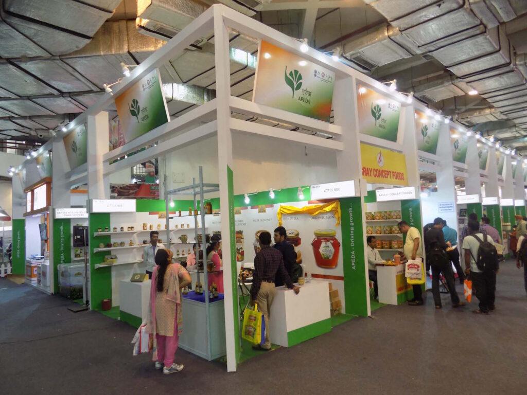 AAHAR, DELHI Custom Exhibition Booth, Exhibition Stand Contractor