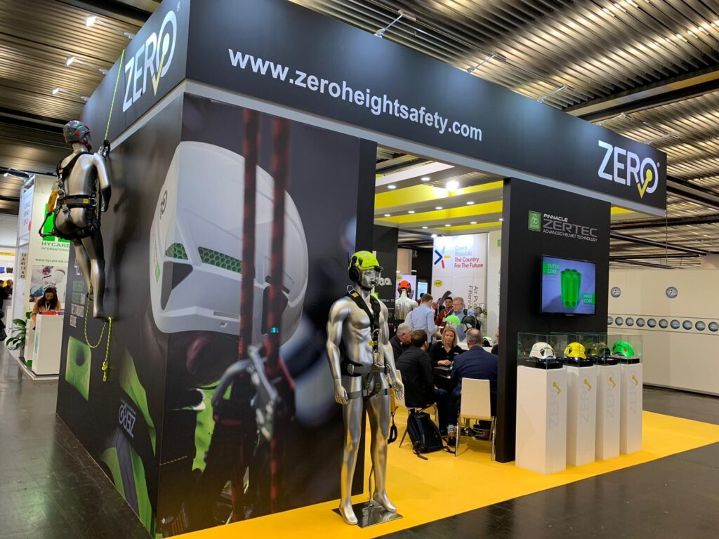 A+A, DUSSELDORF, Germany Custom Exhibition Booth, Exhibition Stand Contractor, Exhibition Booth Designer