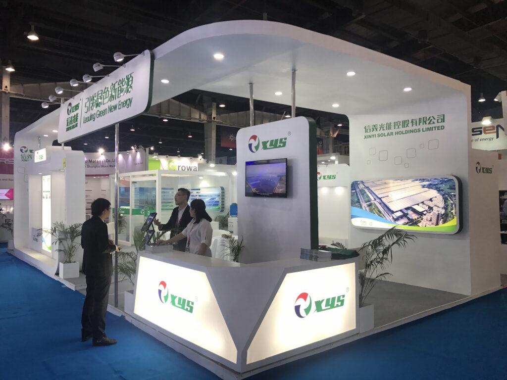 REI, NOIDA Custom Exhibition Booth, Exhibition Stand Contractor