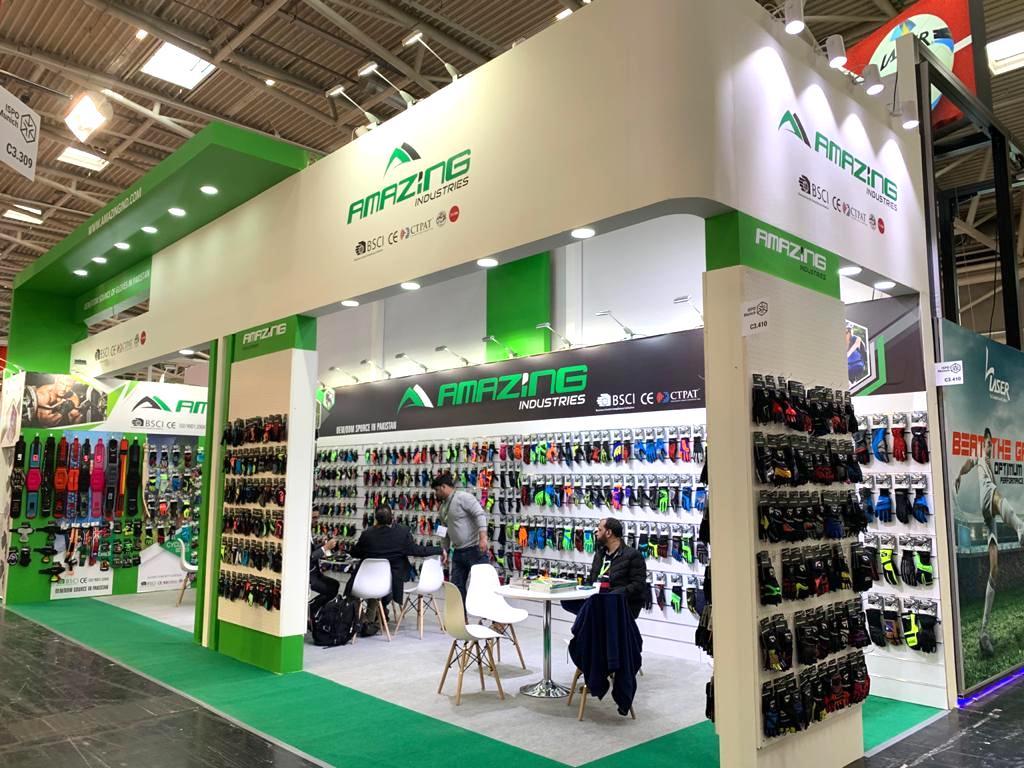 ISPO, MUNICH, Germany Custom Exhibition Booth, Exhibition Stand Contractor, Exhibition Booth Designer