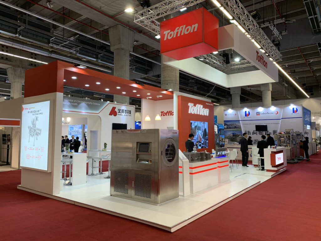 CPHI WW, MADRID, Spain Custom Exhibition Booth, Exhibition Stand Contractor
