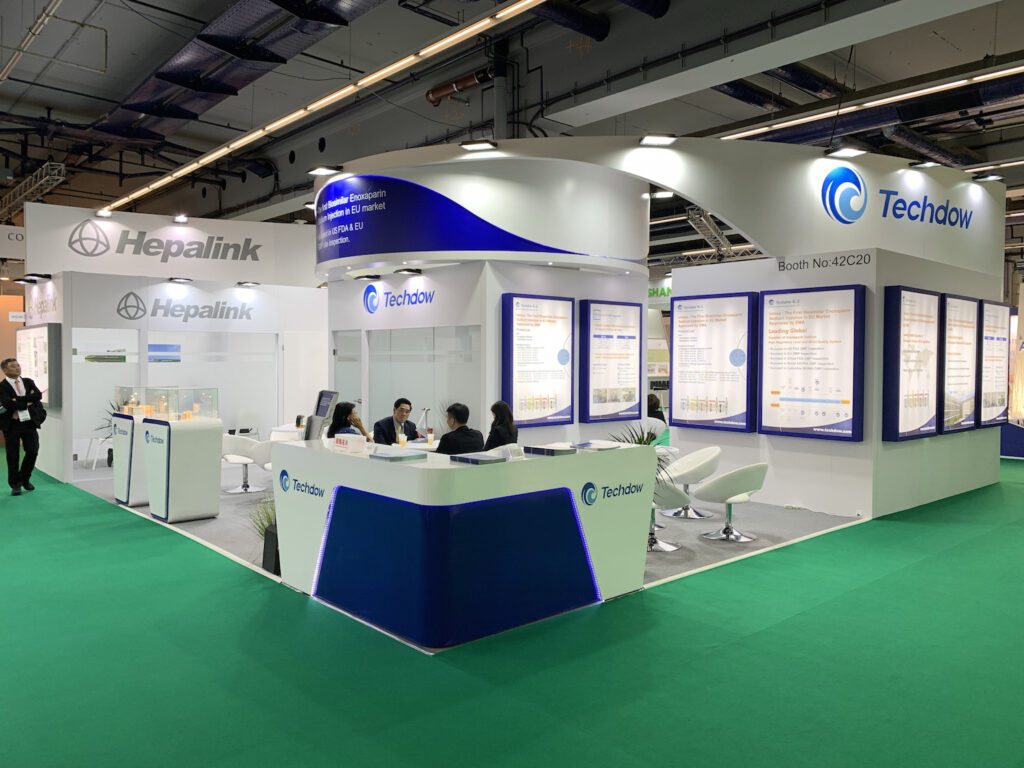 CPHI WW, BARCELONA, Spain Custom Exhibition Booth, Exhibition Stand Contractor