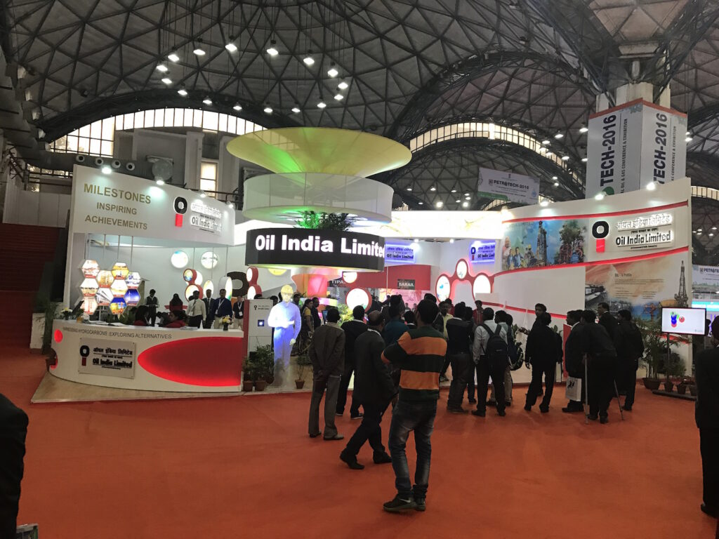 PETROTECH, DELHI Custom Exhibition Booth, Exhibition Stand Contractor