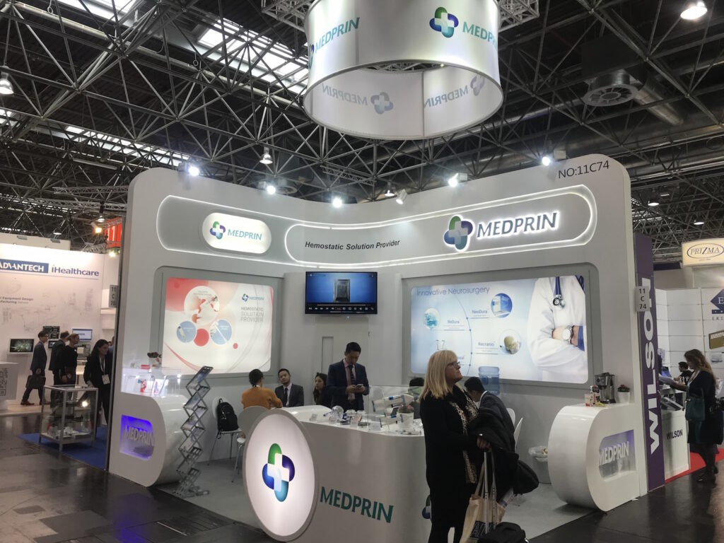 MEDICA, DUSSELDORF, Germany Custom Exhibition Booth, Exhibition Stand Contractor, Exhibition Booth Designer