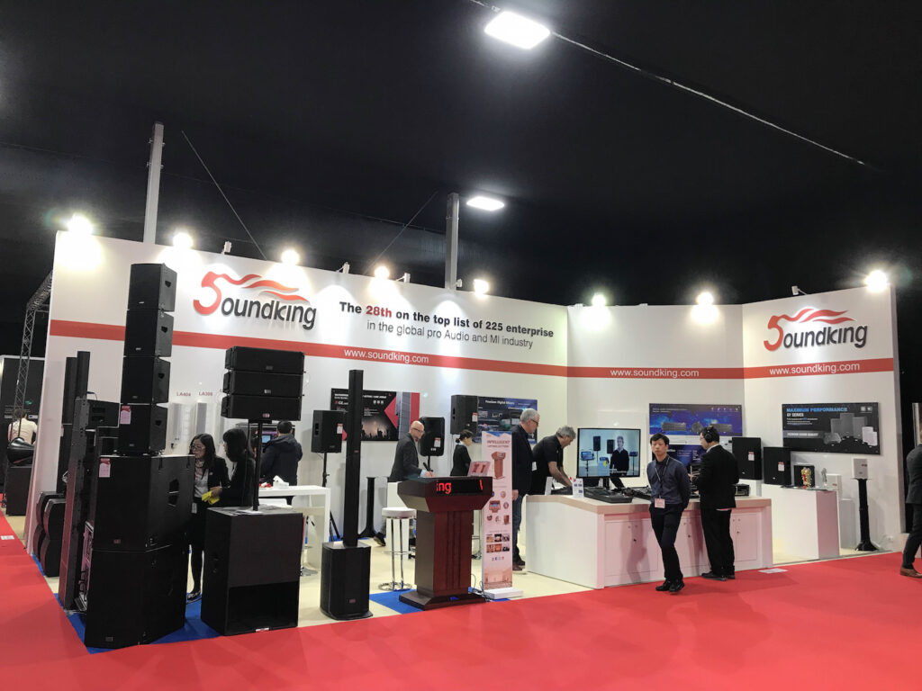 ISE, AMSTERDAM, Netherlands Custom Exhibition Booth, Exhibition Stand Contractor