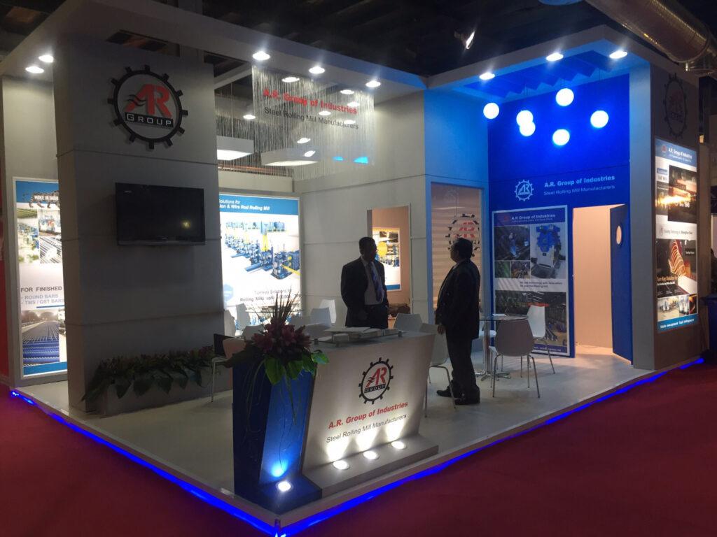 IRAN METAFO, TEHRAN Custom Exhibition Booth, Exhibition Stand Contractor