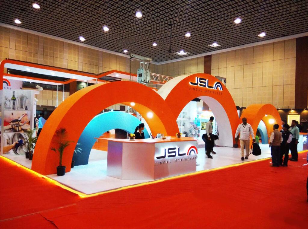 Custom Exhibition Booth, Exhibition Stand ContractorINDINOX, GANDHINAGAR