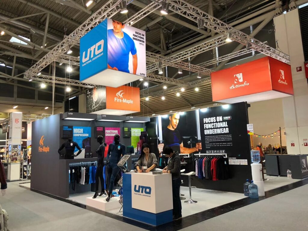 ISPO, MUNICH Custom Exhibition Booth, Exhibition Stand Contractor