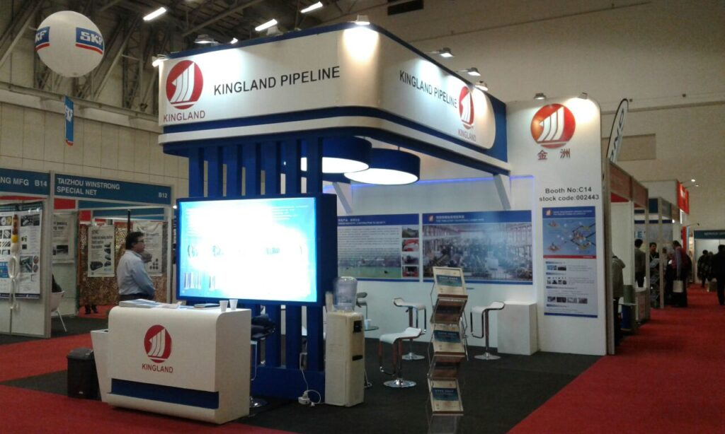 OIL AND GAS CAPETOWN, South Africa Custom Exhibition Booth, Exhibition Stand Contractor