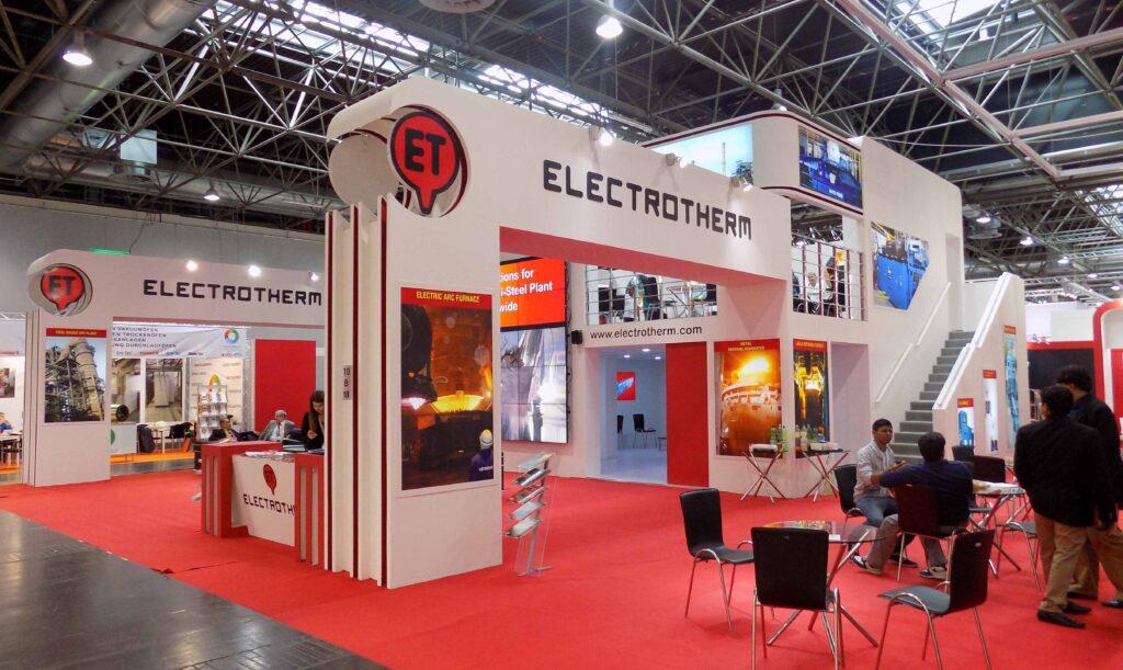 GIFA, DUSSELDORF, Germany Custom Exhibition Booth, Exhibition Stand Contractor, Exhibition Booth Designer