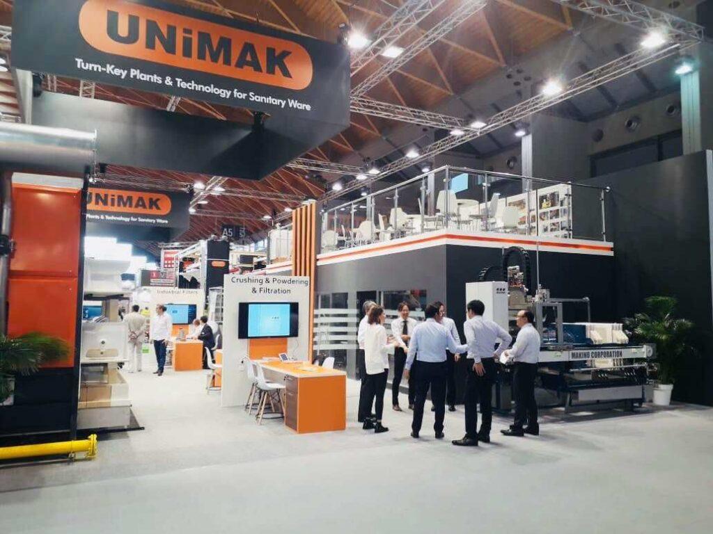 TECNARGILLA, RIMINI, Italy Custom Exhibition Booth, Exhibition Stand Contractor