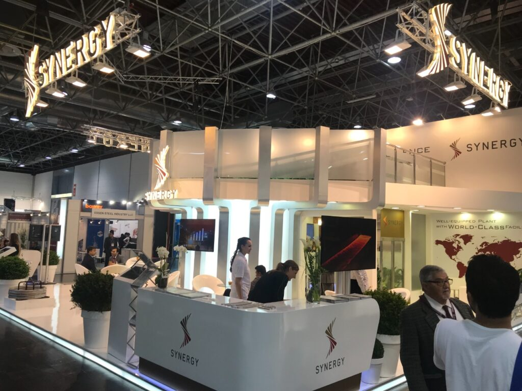 WIRE AND TUBE, DUSSELDORF, Germany Custom Exhibition Booth, Exhibition Stand Contractor, Exhibition Booth Designer