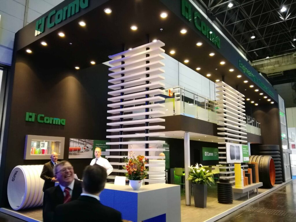 SSW, NETHERLANDS Custom Exhibition Booth, Exhibition Stand Contractor