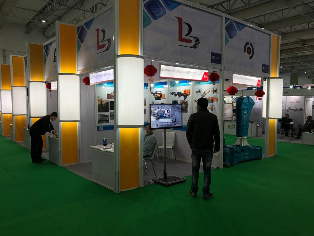 BAUMA CONEXPO, NOIDA Custom Exhibition Booth, Exhibition Stand Contractor