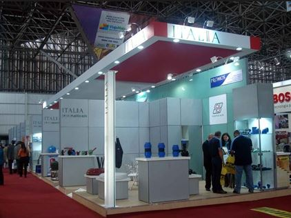 WIRE AND TUBE, DUSSELDORF Custom Exhibition Booth, Exhibition Stand Contractor