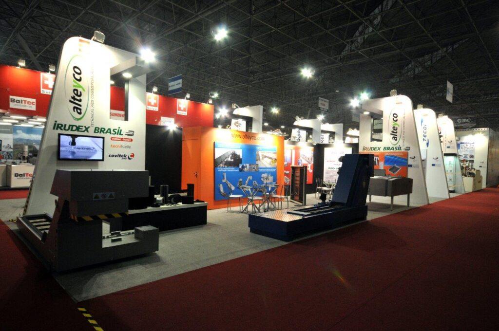 HOSPITALAR, SAO PAULO Custom Exhibition Booth, Exhibition Stand Contractor
