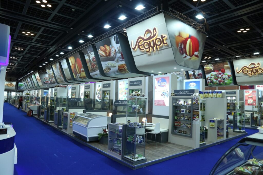 GULFOOD, DUBAI Custom Exhibition Booth, Exhibition Stand Contractor