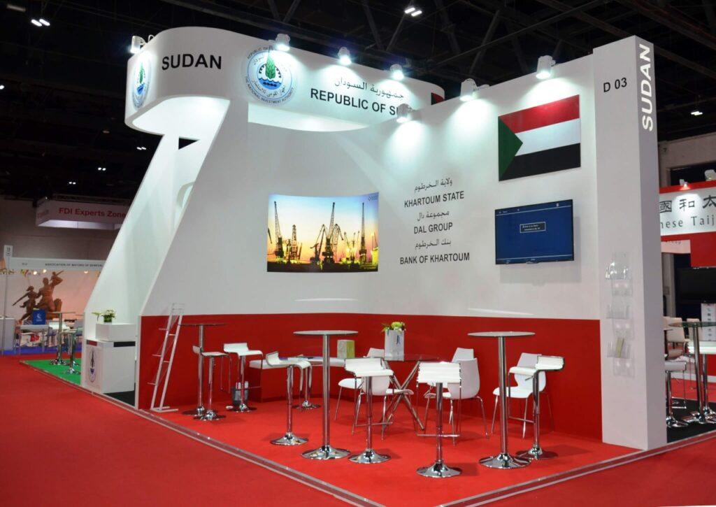 ARAB EXPO, ABUDHABI Custom Exhibition Booth, Exhibition Stand Contractor