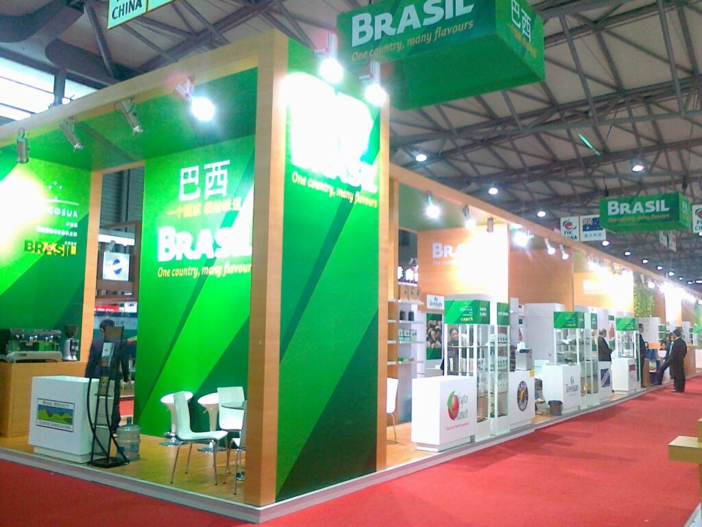 FI, PARIS Custom Exhibition Booth, Exhibition Stand Contractor