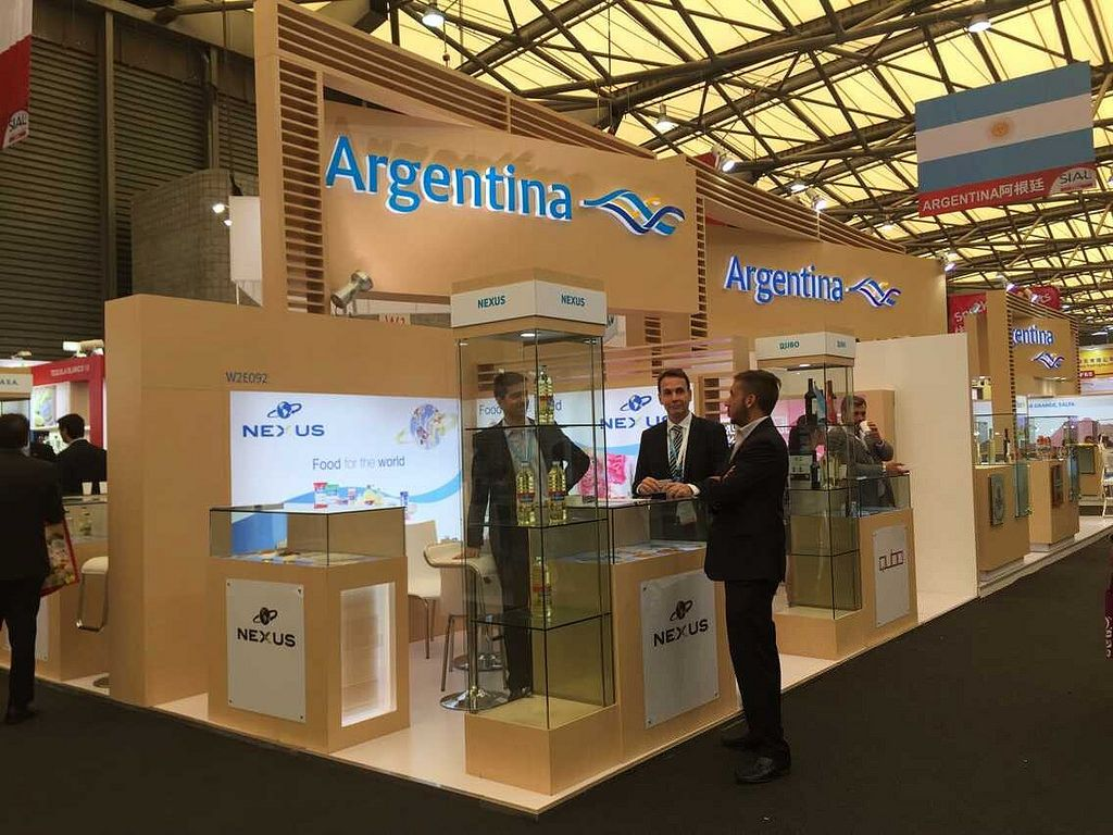 SIAL, CHINA Custom Exhibition Booth, Exhibition Stand Contractor