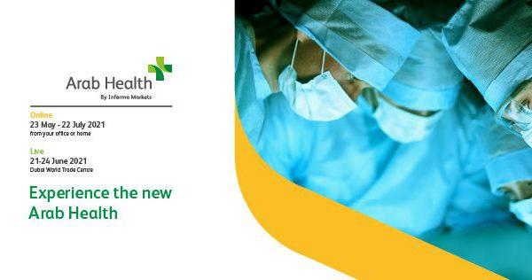 Exhibition booth arab health 2021 dubai