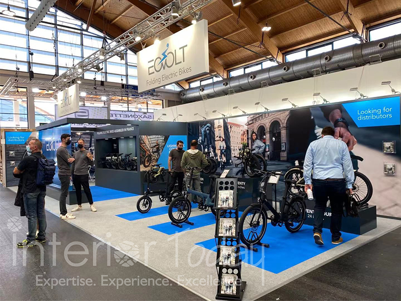 Eovolt Exhibition Stand in Eurobike 2021 Germany