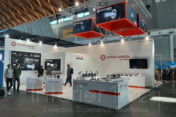 Star Union Exhibition Stand in Eurobike 2021 Germany