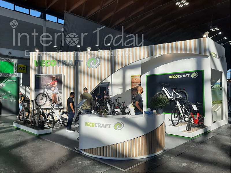 Vecocraft Exhibition Stand in Eurobike 2021 Germany